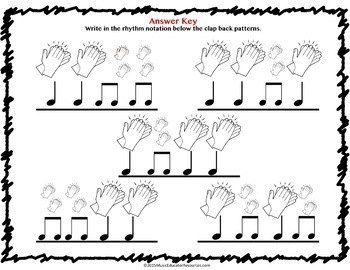 Rhythm Clap Backs BUNDLE