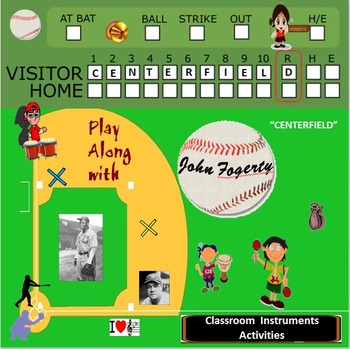 "Rhythm: Classroom Instruments Play Along to ""Centerfield"" John Fogerty"