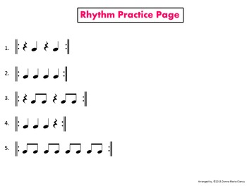 "Rhythm: Classroom Instruments Play Along with ""Crocodile Rock"" G3-5"