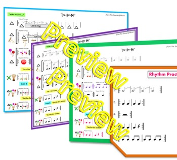 "Rhythm: Classroom Instruments Play Along with ""Do-Re-Mi"""