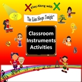 "Rhythm: Classroom Instruments Play Along with ""The Lion Sl"