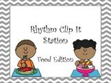 Rhythm Clip It Station: Food Edition