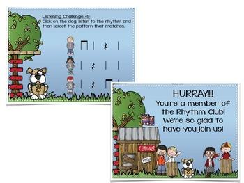 Rhythm Clubhouse {A Bundled Set of Games for Aural Decoding}