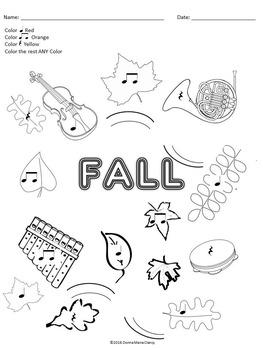 Rhythm: Color By Code: Fall 2