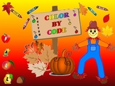 Rhythm: Color By Code: Fall: Grades 1-3
