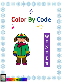 Rhythm: Color By Code: Winter