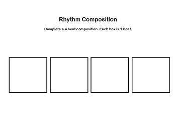 Rhythm Composition (4 beats)