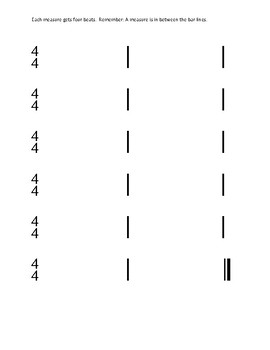 Rhythm Composition Bundle w/ Rubric