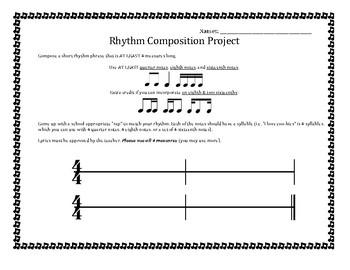 Rhythm Composition Project