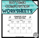 Rhythm Composition Recording Sheets