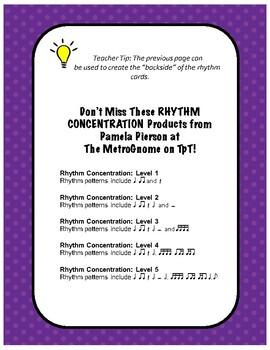 Rhythm Concentration Level 2