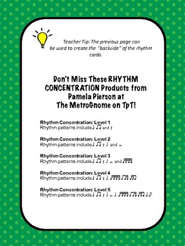 Rhythm Concentration Level 3