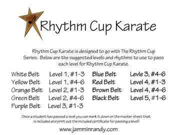 Rhythm Cups Karate