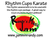 Rhythm Cups Karate