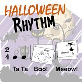 Rhythm Halloween  - Cut, paste create...!!