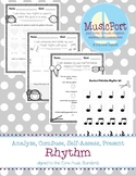 Rhythm:  Analyze, Compose, Self-Assess & Present bundle
