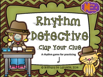 Rhythm Detective - A Game for Practicing Half Note