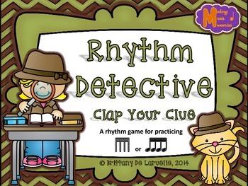 Rhythm Detective - A Game for Practicing Tiri-tiri