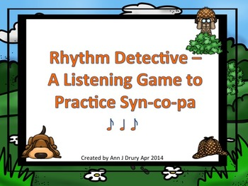 Rhythm Detective - A Listening Game to Practice Syn-co-pa