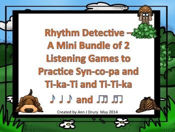 Rhythm Detective - A Mini Bundle of 2 Listening Games