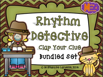 Rhythm Detective Game {Bundled Set}