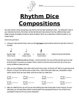 Rhythm Dice Compositions