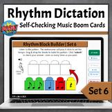Rhythm Dictation Music Game | Boom Cards - Set 6