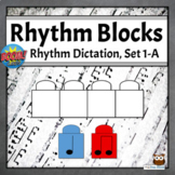 Rhythm Dictation Music Game | Boom Cards - Set 1-A