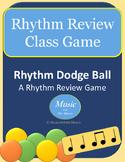 Rhythm Dodge Ball Review Game