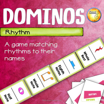Rhythm Dominos - Music Center and Sub Activity