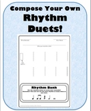 Rhythm Duet Composing Activity