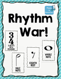 Rhythm Duration WAR Card Game