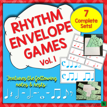 Rhythm Envelope Game Volume 1 (7 Sets!)