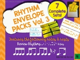Rhythm Envelope Music Game Volume 3 (7 Sets!)