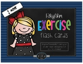 Rhythm Exercise Flash Cards- 4/4 Meter