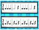 Rhythm Exercise Flash Cards-3/4 Meter