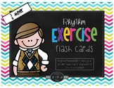 Rhythm Exercise Flash Cards-3/4 Meter