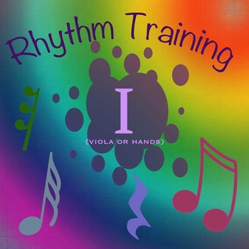 Rhythm Exercises I for viola or clapping