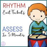 Rhythm Exit Tickets/Slips