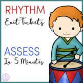 Rhythm Exit Tickets/Slips