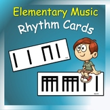 Music Cards: Rhythm Cards for Elementary Music