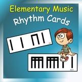 Music Cards: Rhythm Cards for Elementary Music