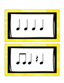 Rhythm Flashcards (K-1st)