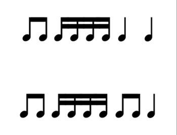 Rhythm Flash Cards (Level 2) - Tika-Tika