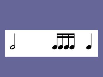Rhythm Flash Cards Level Three