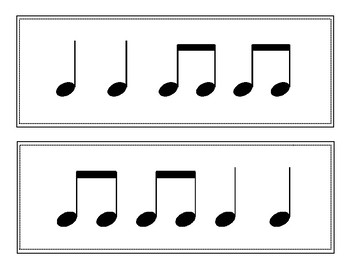 Rhythm Flash Cards Set 1