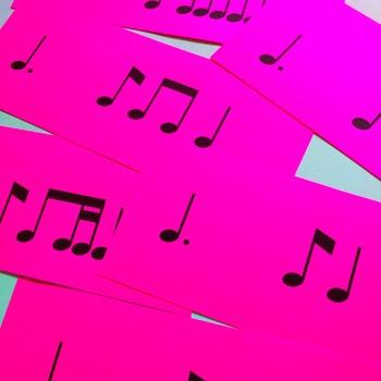 Rhythm Flashcard Kit: Tam ti