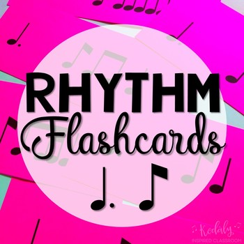 Rhythm Flashcard Kit: Tam ti