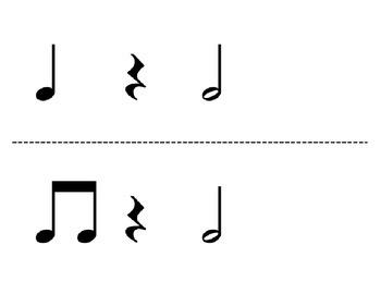 Rhythm Flashcard Kit: half note