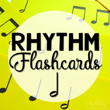 Rhythm Flashcard Kit: half note